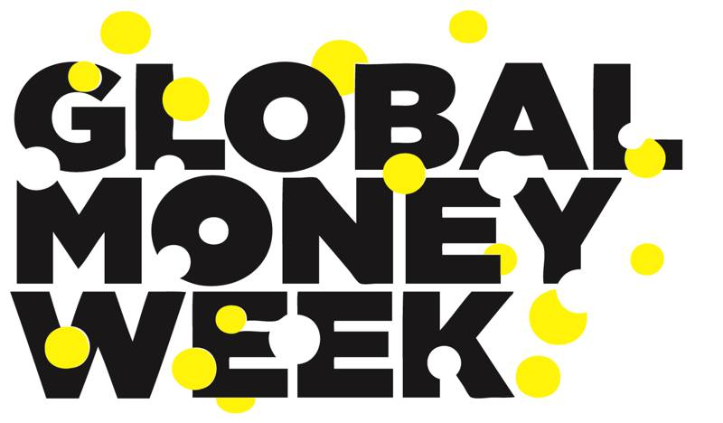 Global Money Week Logo 2015 Black Yellow